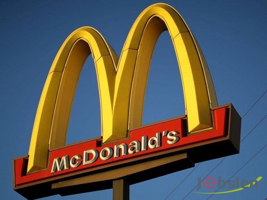 وظائف شاغرة لدى ماكدونالدز