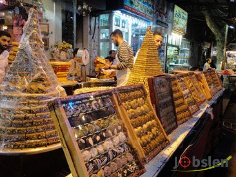 وظائف متعددة بشركة حلويات راقية بالكويت